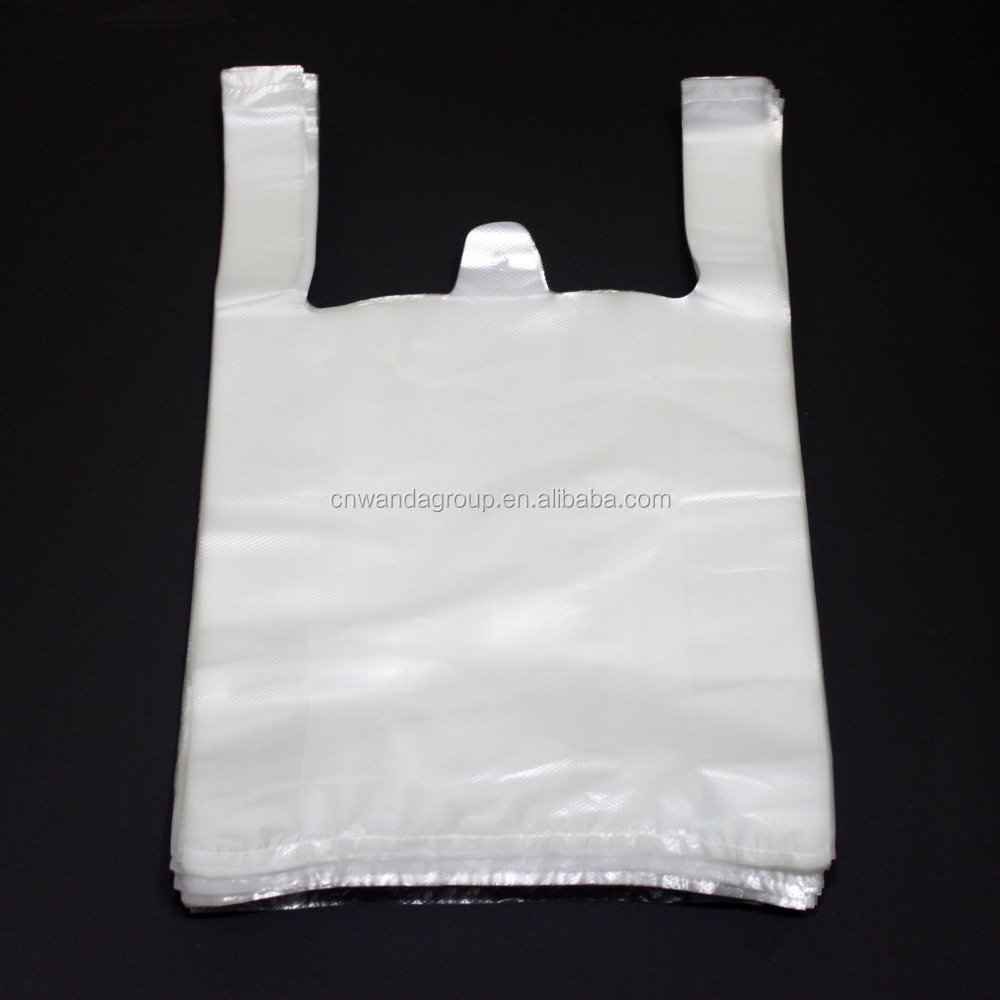 Qingdao plastic shopping bags for grocery and supermarket use