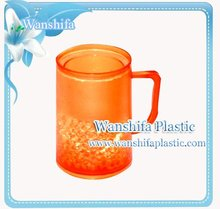 Orange color Plastic Frosty Cup