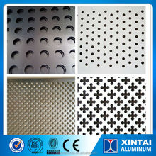 DC and CC rolled Alloy 3003 3104 3005 3105 Perforated aluminum sheet 1.5-5.0mm thickness manufacturer for ceiling roofing