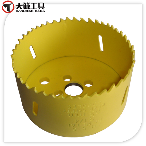 HSS M3 Bi-metal Hole Saw for Wood, Metal