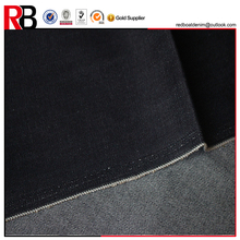 10oz polyester stretch soft denim fabric material for jean