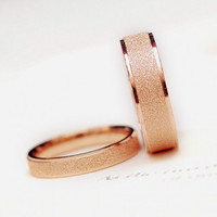 Allencoco titanium steel couple rings for wedding, beautiful pictures of rings