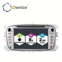 Ownice C500 8 Core Android 6.0 2G ram 32G ROM Car headunit Player For FORD Focus S-MAX Mondeo Support OBD BAD TPMS 4G