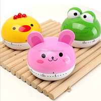 New arrival loud lovely animal shaped kitchen timer for promotion