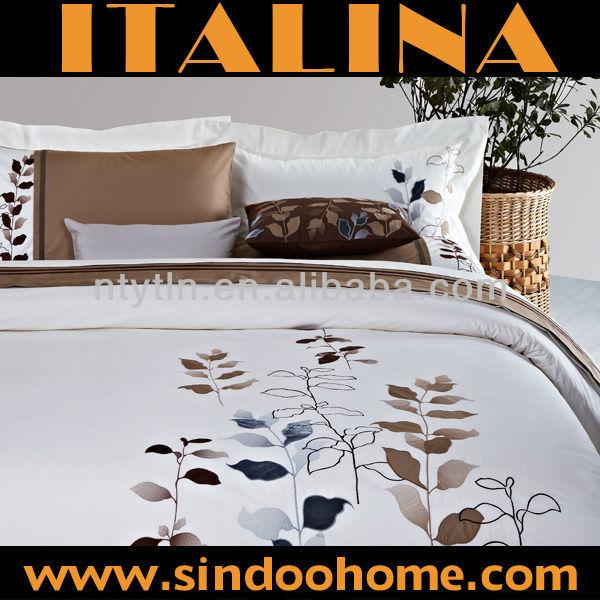 beautiful embroidery bed cover designs