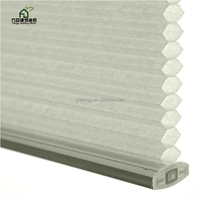 Nylon line honeycomb blinds fabric manufacturer and pleated for poultry production