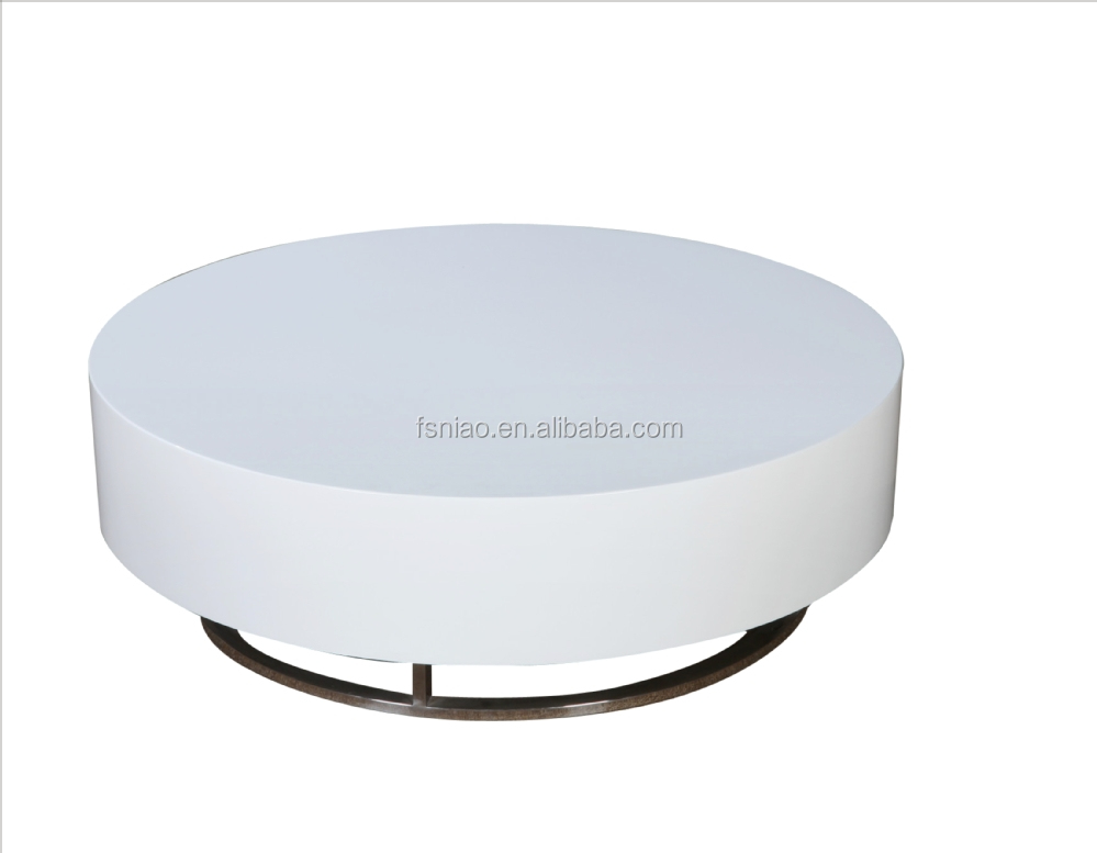 Modern Glossy White Round Coffee Table 1449e Buy Round Coffee Table Round Tea Table Glossy