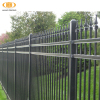 steel tube fence panels, corten steel fence/cheap pool fence