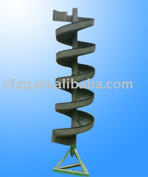 spiral chute for concentrating Ilmenite ORE--CHINA YUFNEG