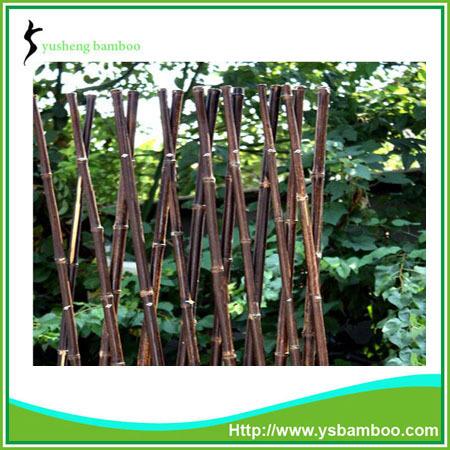Uitbreidbaar vouwen grootte natuurlijke zwarte bamboe hek hekwerk trellis en poorten product id - Bamboe hek ...