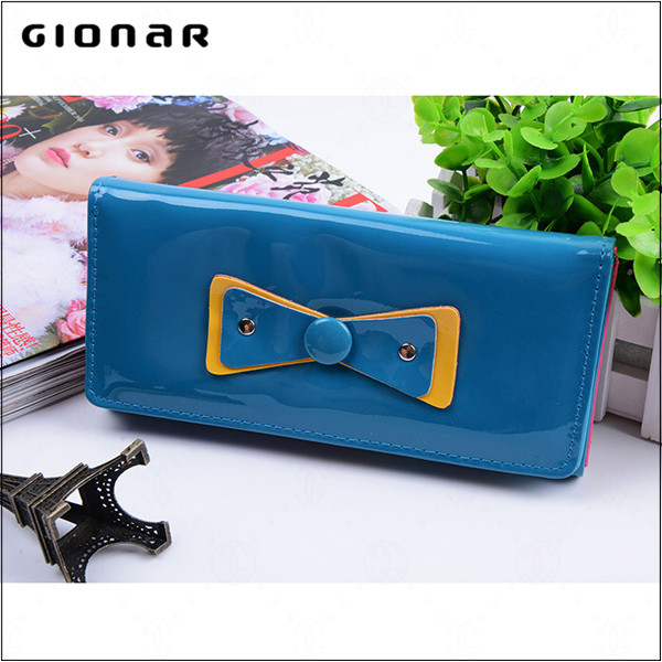 Old fashion women wallets thin female credit card holder wallet