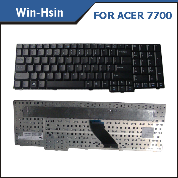 Keyboard in US version for acer 7700 7700G 7720 7720G 7520 7320 7320G 7220 7110 7110G laptop keyboard