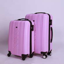 Cheap custom made brand portable luggage 4 spinner wheels luggage secret compartment