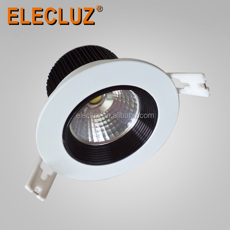 Quality architectural clear glass led downlight lighting 5W IP20 with 2years warranty