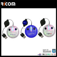 computer retractable mini mouse,beautiful mini mouse,best quality mini mouse --MS3036---Shenzhen Ricom