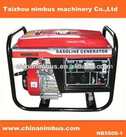 TRADEMARK OEM home use portable gasoline generator series ac moto