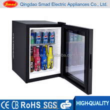 noiseless direct cooling nation fridge mini bar for hotel using