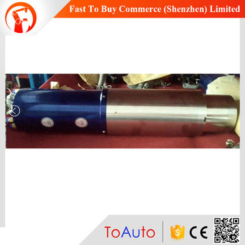 SDS100-25-24Z-2.5 24000rpm 2.5kw 220v 8.8a 400Hz 100*413mm iso25 water-cooled atc spindle motor
