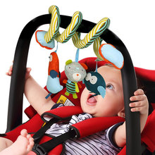 Baby activity baby bed pram spiral toy hanging plush