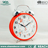 Big size metal retro twin bell alarm clock , steam room clock