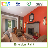 Manufacture price interior wall emulsion white acrylic plastic paint in online chemical shopping