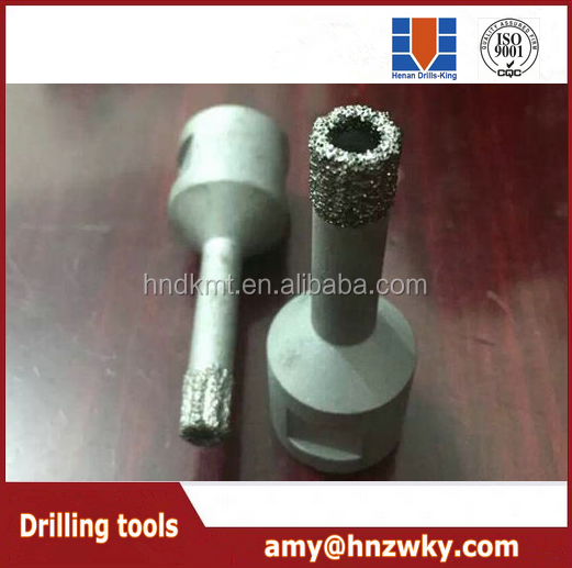 Vacuum Brazed Wet and Dry Portable Core Drill BEST NEW Vacuum brazed reinforced concrete tile diamond core drill bits