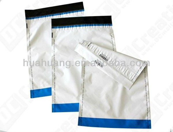 Plastic envelop bag security seal
