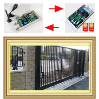 Automatic sliding gates operator/gsm operated sliding gate/sms operated opener
