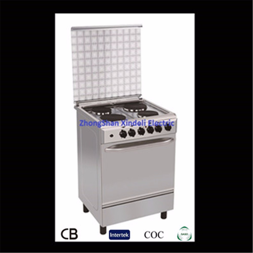 New style Free standing electric cooker with baking oven for Home used