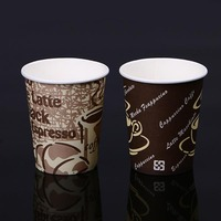 Biodegradable compostable Custom printed disposable PLA coffee tea paper cup