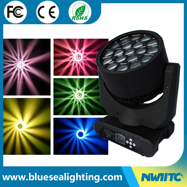 perfect for bar clubs and other rgbw focus beam led wash light 19*15w