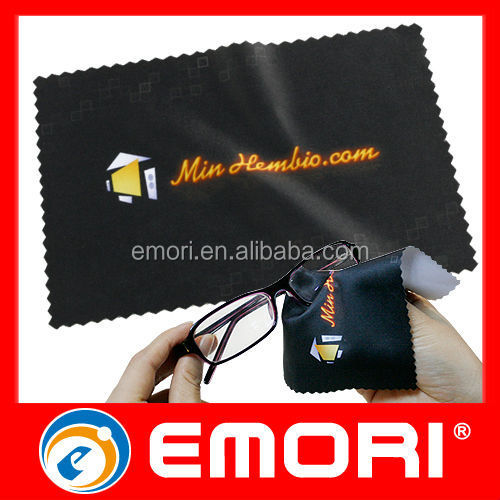 Low cost Embossing logo reusable golf cleaning cloth