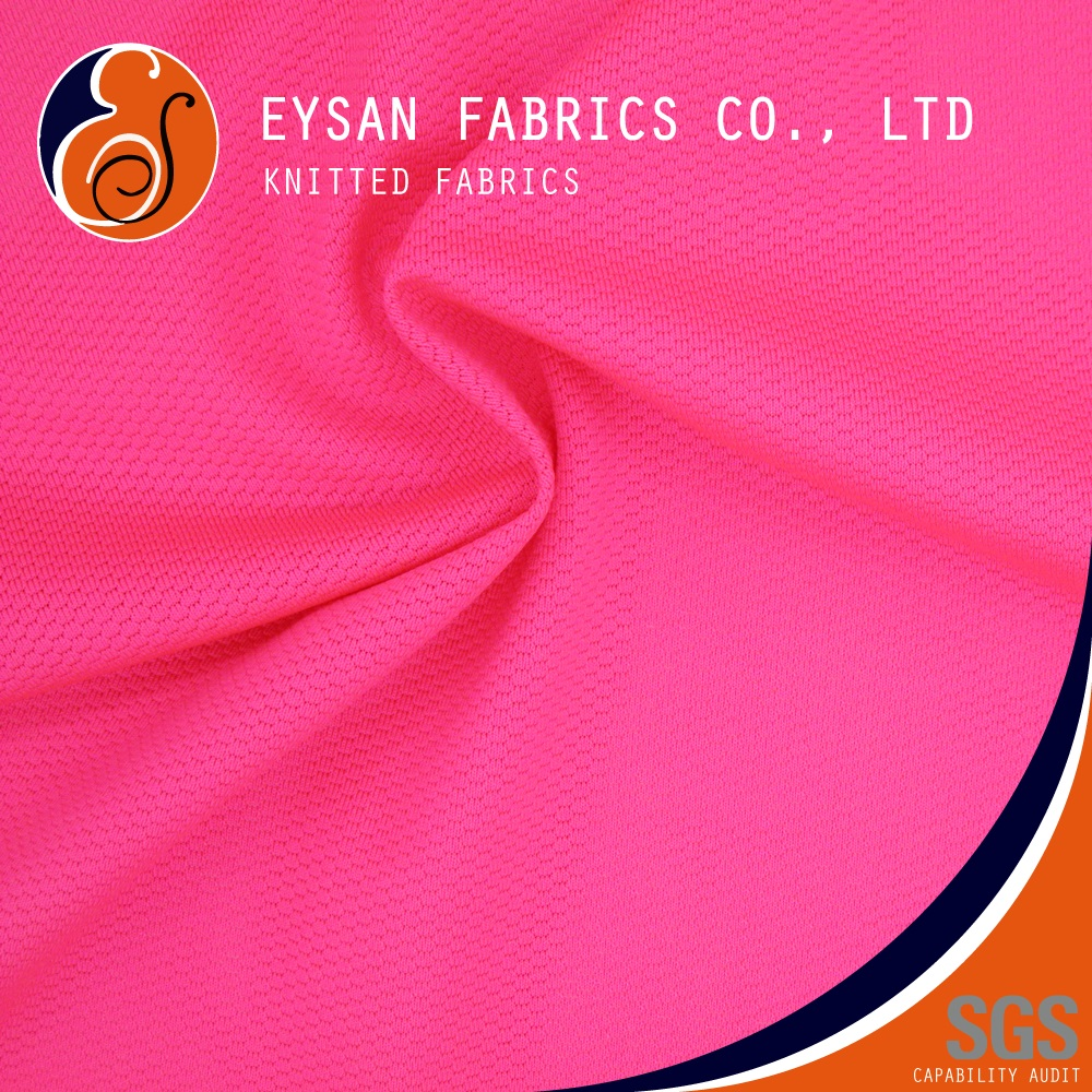 EYSAN Knitted Soft Small Holes 92 Polyester 8 Spandex Mesh Fabric