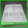 Disposable clear plastic food tray, cookie/biscuit packing tray Plastic packaging container