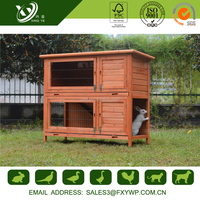 2016 best price beautiful strong wooden big rabbit hutches image for sale