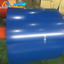 white, blue or customized JIS, CGCC Soft Prepainted Color Coated Steel Coils (PPGI coil)