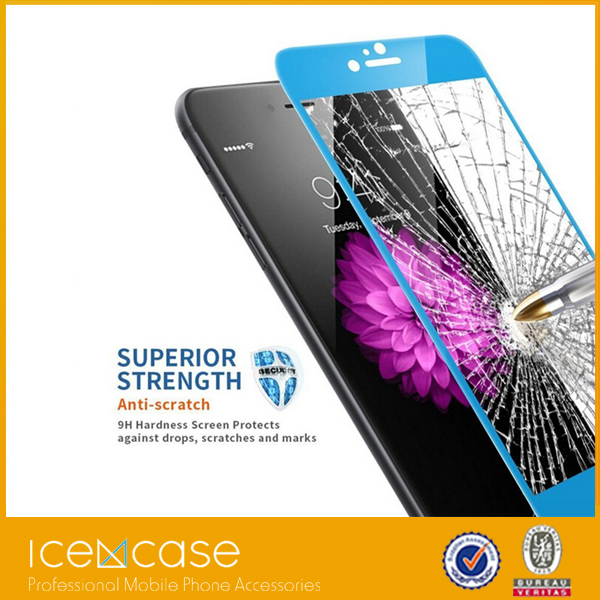 3D Tempered Glass Screen Protector Full Cover Guard For iPhone 6/6s Smartphone