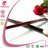 Custom Logo Eyes Makeup Brush Flat Top Synthetic Eye Shadow Brush professional makeup brush set