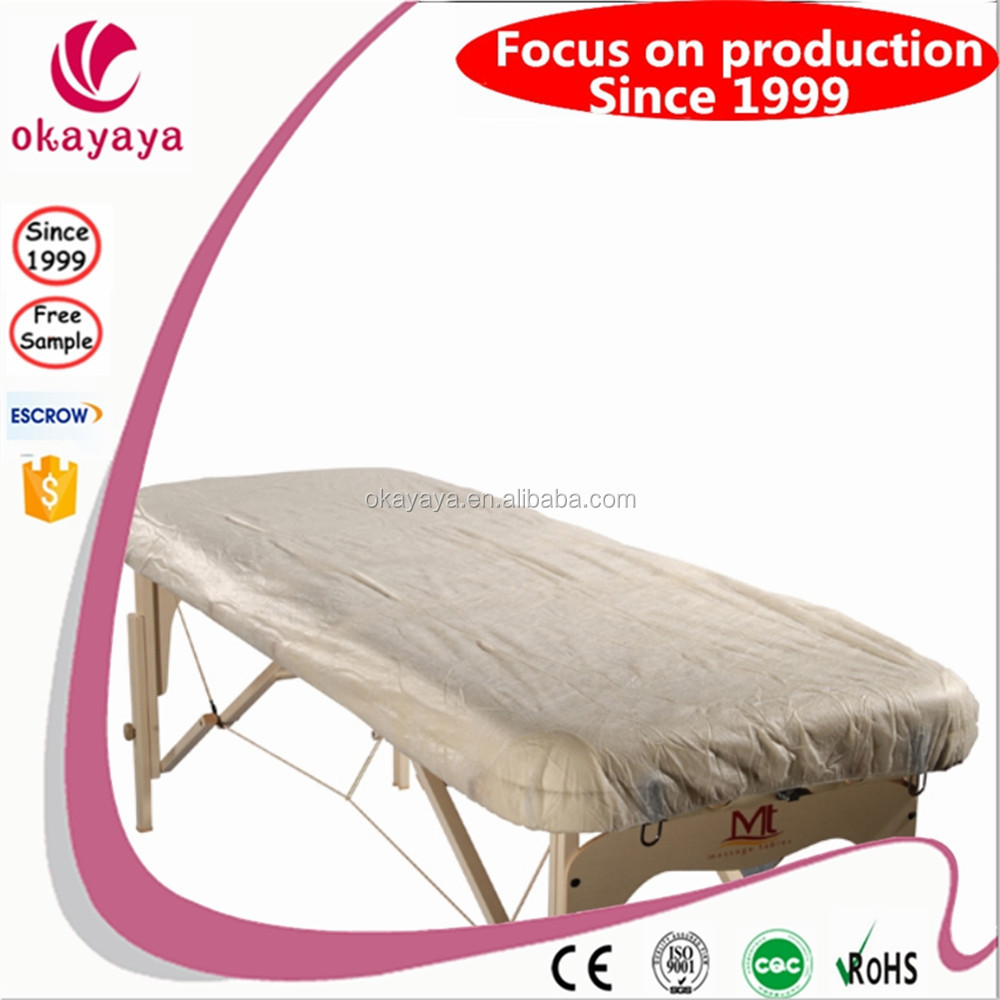 Wholesale Disposable Nonwoven Massage Bed Sheet Bed Cover