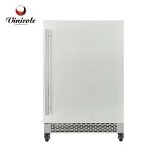 Stainless Steel Outdoor Electric Cooler Beverage Display Refrigerator Budweiser Cooler