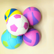 OEM custom shape 6.3mm 7.6mm PU foam anti stress ball squeeze ball with logo