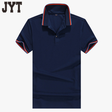 Latest Pure Color High Quality Customized Embroidered Casual Mens Black Polo Shirt