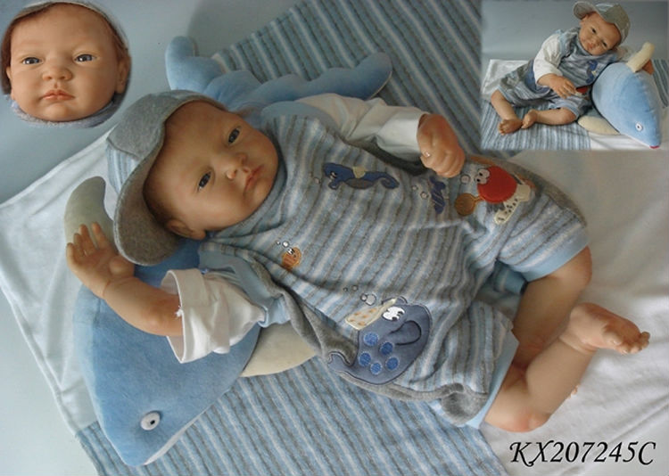 Hot Selling Soft Vinyl 22 Inch Silicone Reborn Doll Kits