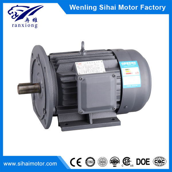 Y2 series 6pole 1.1kw cast iron waterproof three phase asynchronous motor