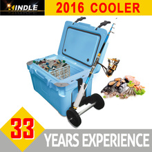 Cooler Ice Chest Blue Camping Outdoor Hunting Fishing Picnic Party Food Mini Cooler Box