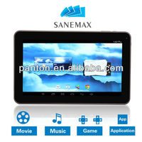 10 inch Allwinner A20 dual core 1080P HDMI 8GB wifi dual cameras Android tablet