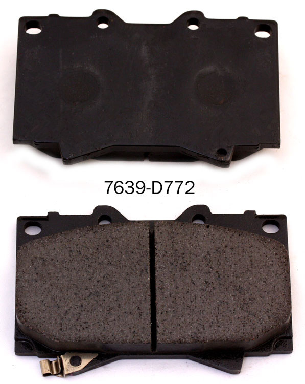 Custom made 04465-60230 Supplier of brake pad for home use
