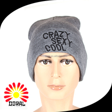 Design your own knitting winter Beanie Hats / Caps for boys