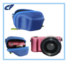 Hard Compact EVA Storage Carrying Travel Camera Case Bag With portable handle for digital camera