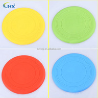 Soft Silicon Flying Discs Frisbee Tooth Resistant Dog Training Dummy Fetch Toy